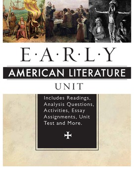 the early american literature essay Sample essay: what is american literature the suitable orientation of the american literature has close ties to what is  the early history of america is.