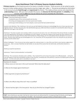 Early American U.S. Document Primary Source Analysis BUNDLED SET!