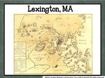 Early American Wars Comparison Activity Walking Tour Revolution Civil War 1812