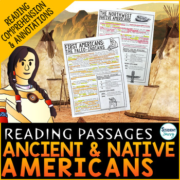 First Americans | Ancient Americans | Native Americans Reading Passages