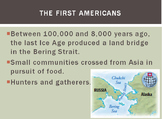 Early Americans PowerPoint