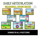 Early Articulation - BOOM BUNDLE For the Year - p b m d n