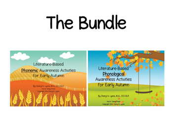 Early Autumn Phonological and Phonemic Awareness BUNDLE