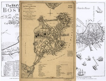 Early Boston Map Activity