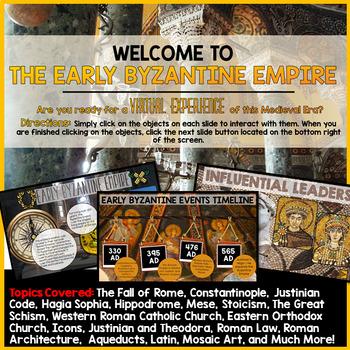Byzantine Empire PowerPoint and Google Slides