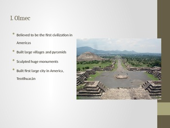 Early Central American Civilizations