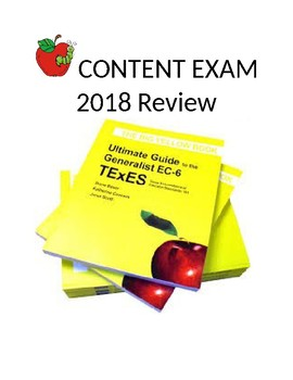 Early Childhood - 6th Grade Content Review