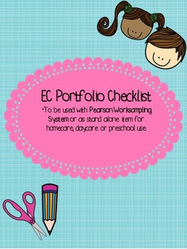 Early Childhood All Subjects Portfolio Checklist