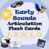 Early Sounds Articulation Flash Cards Set 1