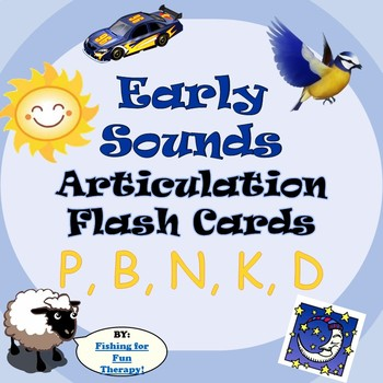 Early Childhood Artic Flashcards