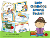 Early Childhood Awards Packet