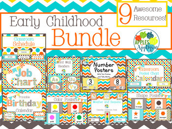 Early Childhood BUNDLE in Candy Colors Theme
