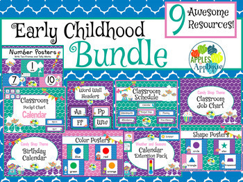 Early Childhood BUNDLE in Candy Shop Theme