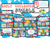 Early Childhood Classroom Decor BUNDLE in Comic Book Theme