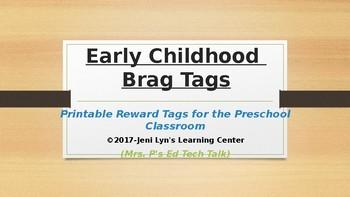 Early Childhood Brag Tags