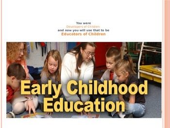 Early Childhood Education A Unit 1 Day 1 power point Class intro Training packet