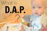 Early Childhood Education A Bundle Unit 1 DAP focused center