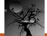 "Early Childhood Education A Unit 1 Day 3 power point ""Creepy"" Observations"