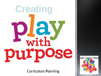 Early Childhood Education A Unit 1 Day 7 power point Curriculum Writing