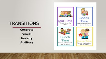 Early Childhood Education A Unit 2 Day 1 power point Transitions & Stories
