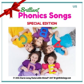 Early Childhood Education: A-Z Brilliant Phonics Songs MEGA-BUNDLE!