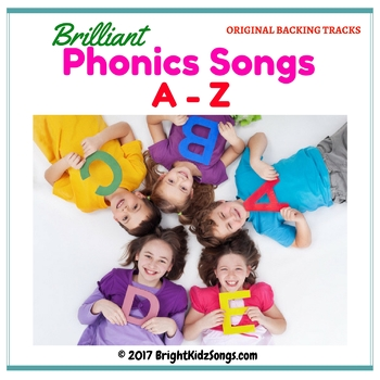 Early Childhood Education: A-Z Phonics Songs Backing Tracks