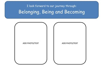 Early Childhood Education Journal or Portfolio - The Journey Begins