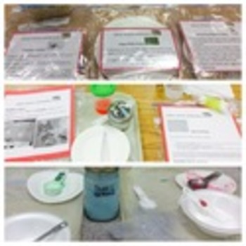 Early Childhood Education A Unit 2 day 4 Science center activity posters