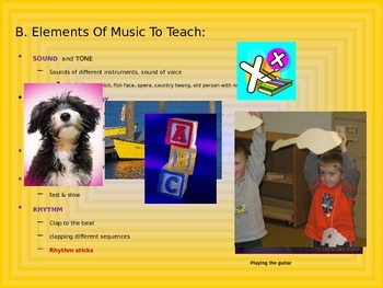 Early Childhood Education A Unit 2 day 6 power point Music and Movement