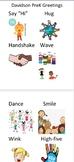 Early Childhood Greetings Chart