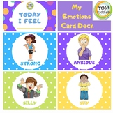 Early Childhood Learning: My Emotions Card Deck