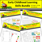 Early Childhood Learning Skills Bundle - School Theme