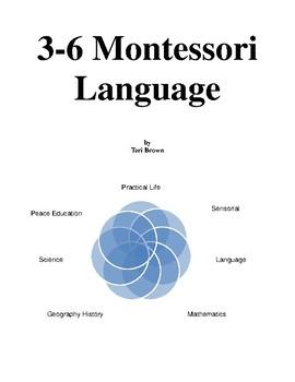 Early Childhood Montessori Language Album by Teri Brown