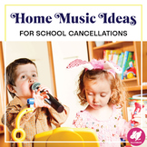 Primary Music Activities to Send Home for Distance Learning - FREE