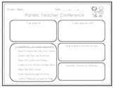 Early Childhood Parent Teacher Conference Form