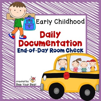 Preschool Organization - End of Day Room Check