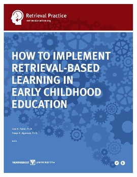 Early Childhood Retrieval Guide