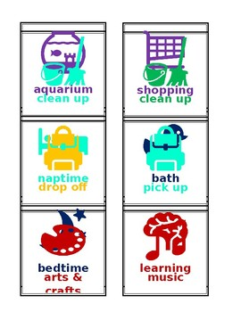 FREE - Early Childhood Routine Cards - Microsoft Word - Editable
