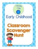 Early Childhood Scavenger Hunt