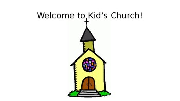 Early Childhood Social Story for Church