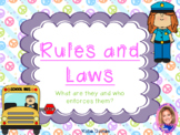 NEW Early Childhood Social Studies: Rules and Laws!
