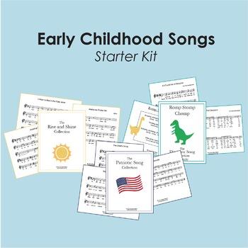 Early Childhood Songs Starter Kit