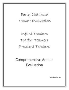 Early Childhood Teacher Employee Evaluation