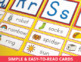 Preschool Pre-k and Kindergarten Word Wall Cards and ABC Headers in 3 Colors