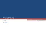 China Unit - World History