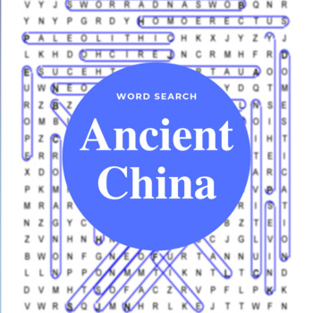 Early China Review Word Search