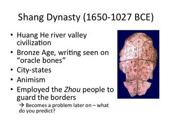 Early Chinese Dynasties: Shang, Zhou, and the Mandate of Heaven