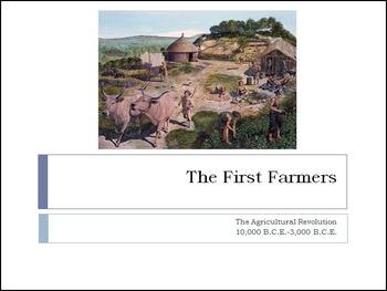 Early Civilization Development Cause & Effect Activity