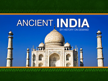 Ancient India PowerPoint with Guided Outline