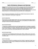 Early Civilizations Five Criteria Summative Assessment
